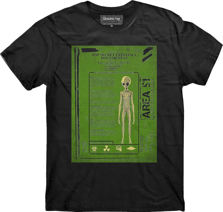 Amazon.com: Area 51 t-shirt, Alien Anatomy t-shirt, Property of Area ...