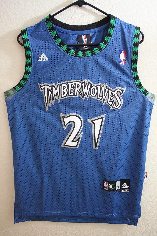 6a5ed42a7e6 Adidas NBA Minnesota Timberwolves Kevin Garnett Classic Swingman Men Jersey