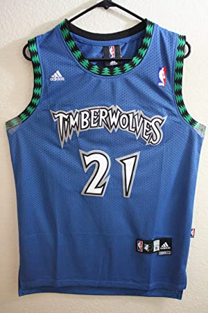 d8c1e35bdc2a Adidas NBA Minnesota Timberwolves Kevin Garnett Classic Swingman Men Jersey