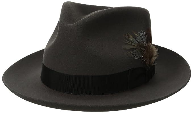 Stetson Men s Stetspm Chatham Royal Deluxefur Felt Hat at Amazon Men s  Clothing store  e9be22da086
