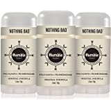 Humble Brands All Natural Aluminum Free Deodorant Stick for Women and Men, Lasts All Day, Safe, and Certified Cruelty Free, P