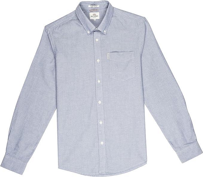 Ben Sherman LS Core Oxford Camisa para Hombre: Amazon.es: Ropa y ...