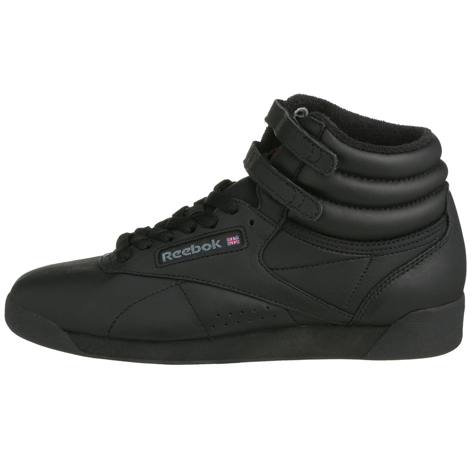 Amazon.com | Reebok F/S Hi Black Black Womens Trainers Size 2.5 UK | Shoes