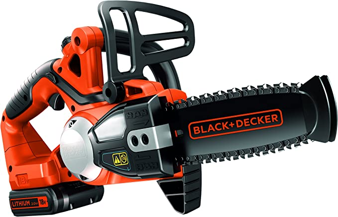 BLACK+DECKER GKC1820L20-QW - Espada 20 cm Peso 2,90 Kg Bateria 18 V 2Ah (incluida)