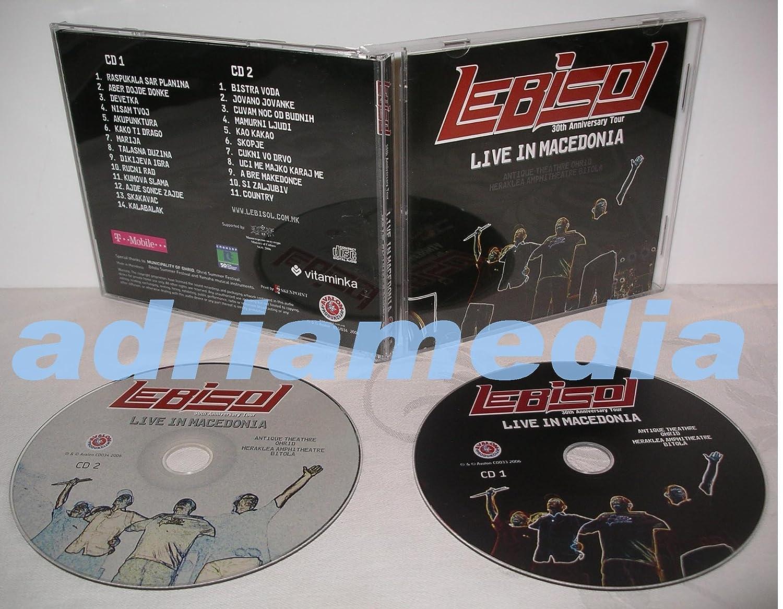 LEB I SOL - LEB I SOL - Live in Macedonia 2006 ( 2 CD