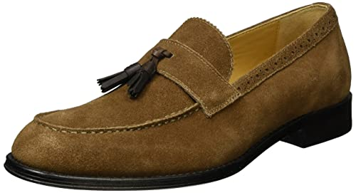 ALDO GRISELLO, Mocasines para Hombre, Marrón (21 Brown Suede), 41 EU: Amazon.es: Zapatos y complementos