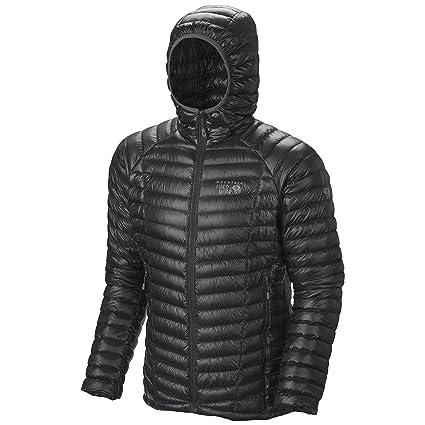 Mountain Hardwear Ghost Whisperer Down Hooded Jacket - Men's Black Small