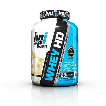 ענק Amazon.com: BPI Sports Whey HD Ultra Premium Protein Powder AC-68