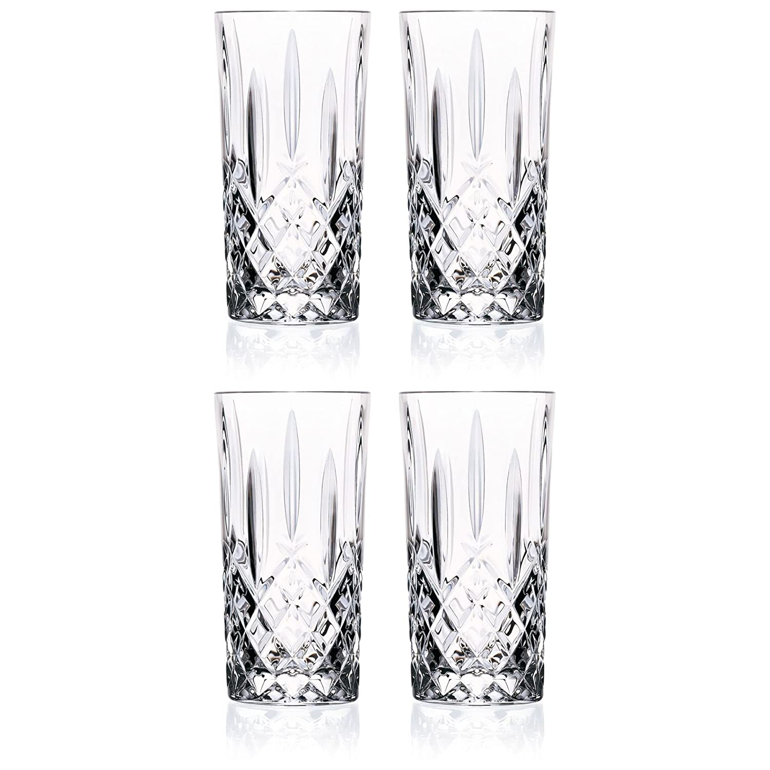 RCR Crystal Orchestra Crystal Hiball Glasses - 396ml (13.5oz) Set Of 4