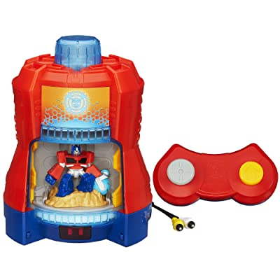 Playskool Heroes Transformers Rescue Bots Beam Box Game System: Toys & Games