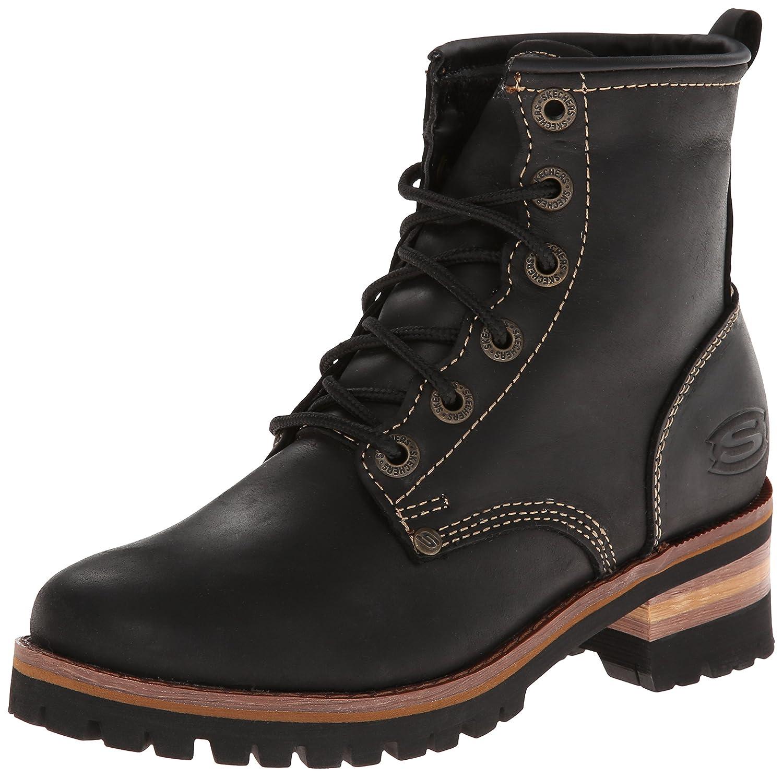 Skechers Women's Laramie 2 Engineer Boot B00HSHIQ68 9 B(M) US|Black