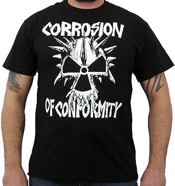 a17a50634 Hardcore Apparel Corrosion Of Conformity (Old School Logo) Men's T ...