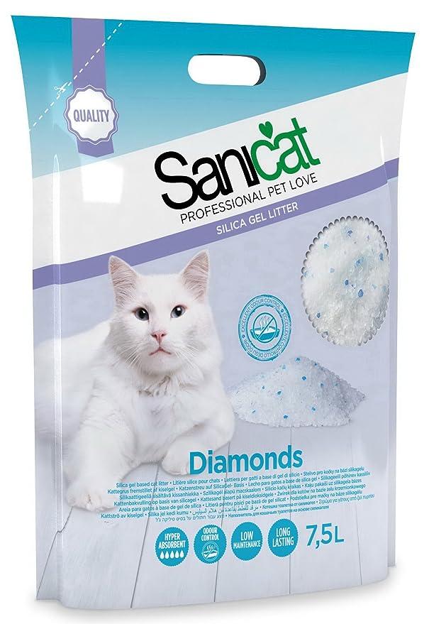 TOLSA D-10255 Sanicat Diamond Sílice Gel - 7.5 L: Amazon.es: Productos para mascotas