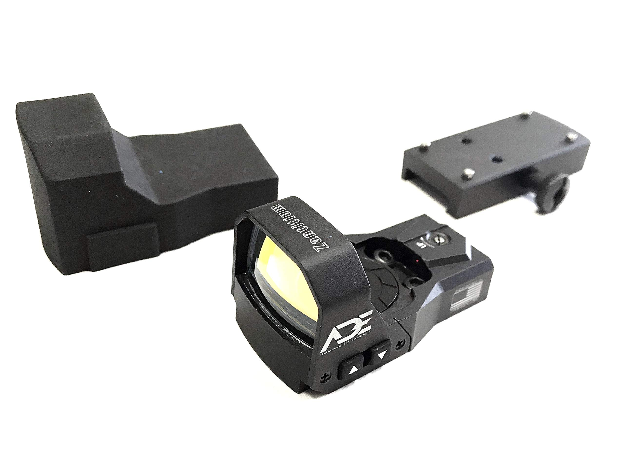 Ade Advanced Optics rd3-015 4MOA Red Dot Micro Mini Reflex Sight for Handgun with 40000 Battery Life ... by Ade Advanced Optics