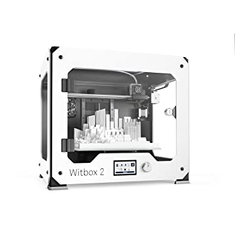 BQ Witbox 2 - Impresora 3D (resolución 20 micras, velocidad 200 mm ...