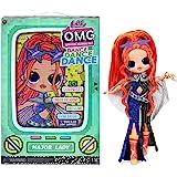 LOL Surprise OMG Dance Dance Dance Major Lady Fashion Doll with 15 Surprises Including Magic Black Light, Shoes, Hair Brush,