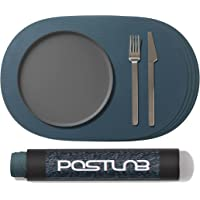 POSTLAB Placemats for Dining Tables Set of 4 (Midnight Forest)