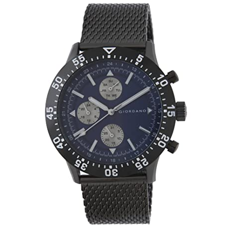 Giordano Analog Blue Dial Men's Watch- 1870-33 Men at amazon