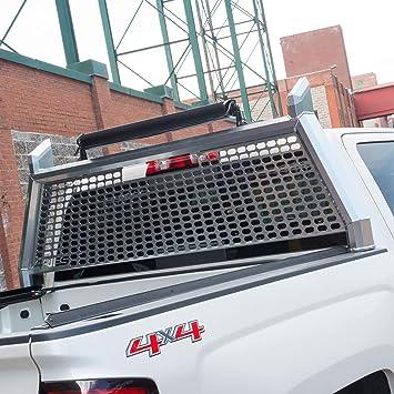 Amazon Com Aries 1110203 Advantedge Chrome Aluminum Truck Headache Rack Cab Protector Select Ford F 250 F 350 Super Duty Automotive