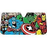 Plasticolor 003721R01 Marvel Avengers Retro Accordion Sunshade