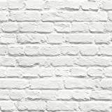 UGEPA J66529 - Papel pintado, color: blanco