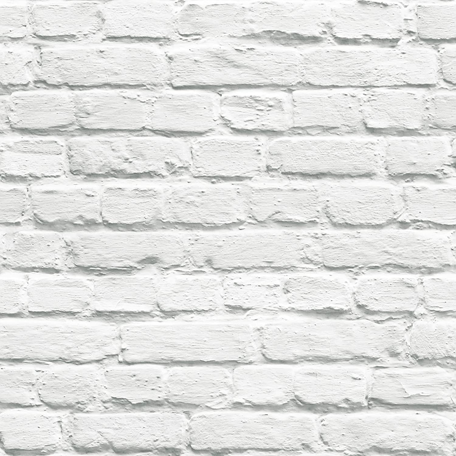 Design White Brick muriva painted white brick wallpaper amazon com