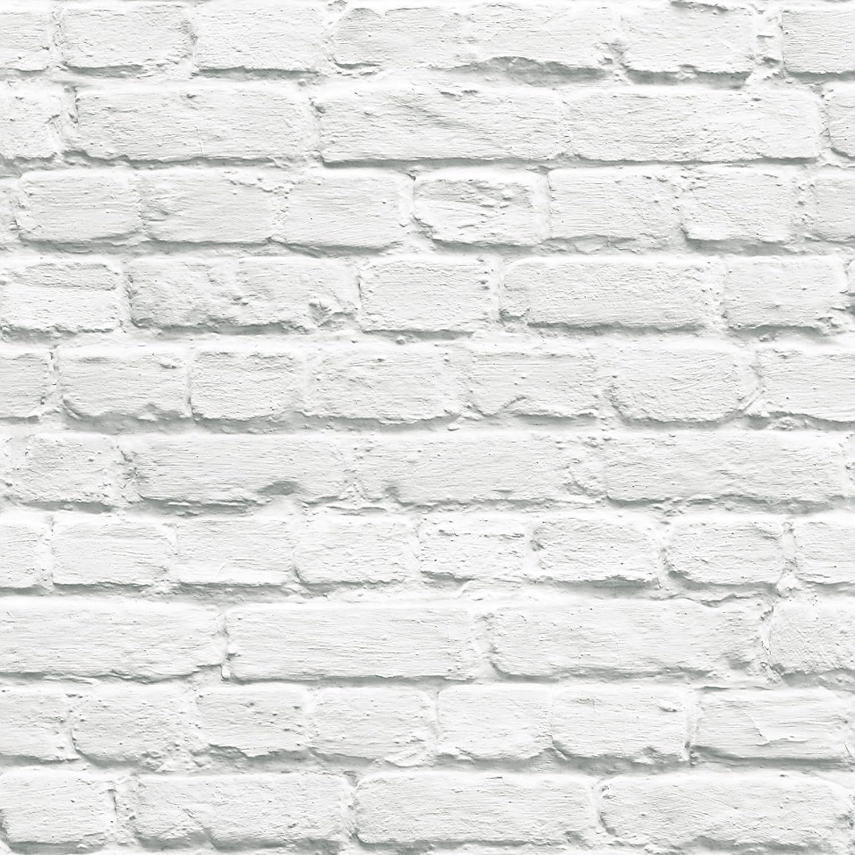 UGEPA J66529 - Papel pintado, color: blanco: Amazon.es: Bricolaje y ...