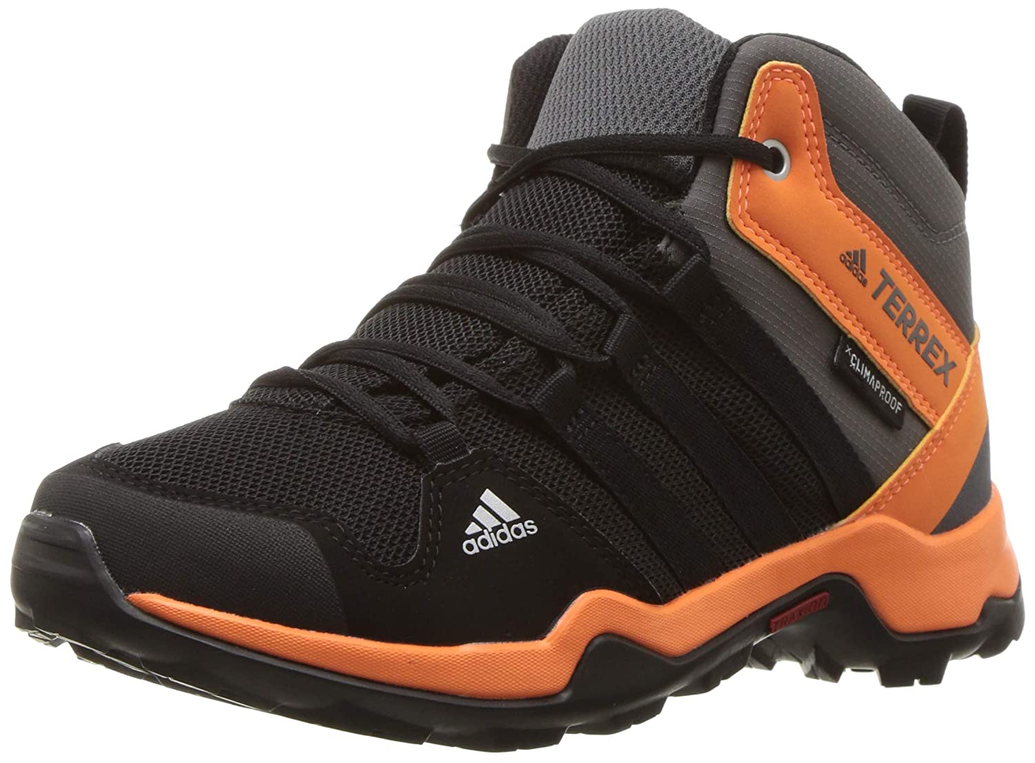 adidas outdoor Kids' Terrex AX2R Mid Climaproof Lace-up Boot