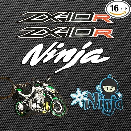 Amazoncom Llap Kawasaki Zx10r Decals Ninja Stickers Keychain Vinyl