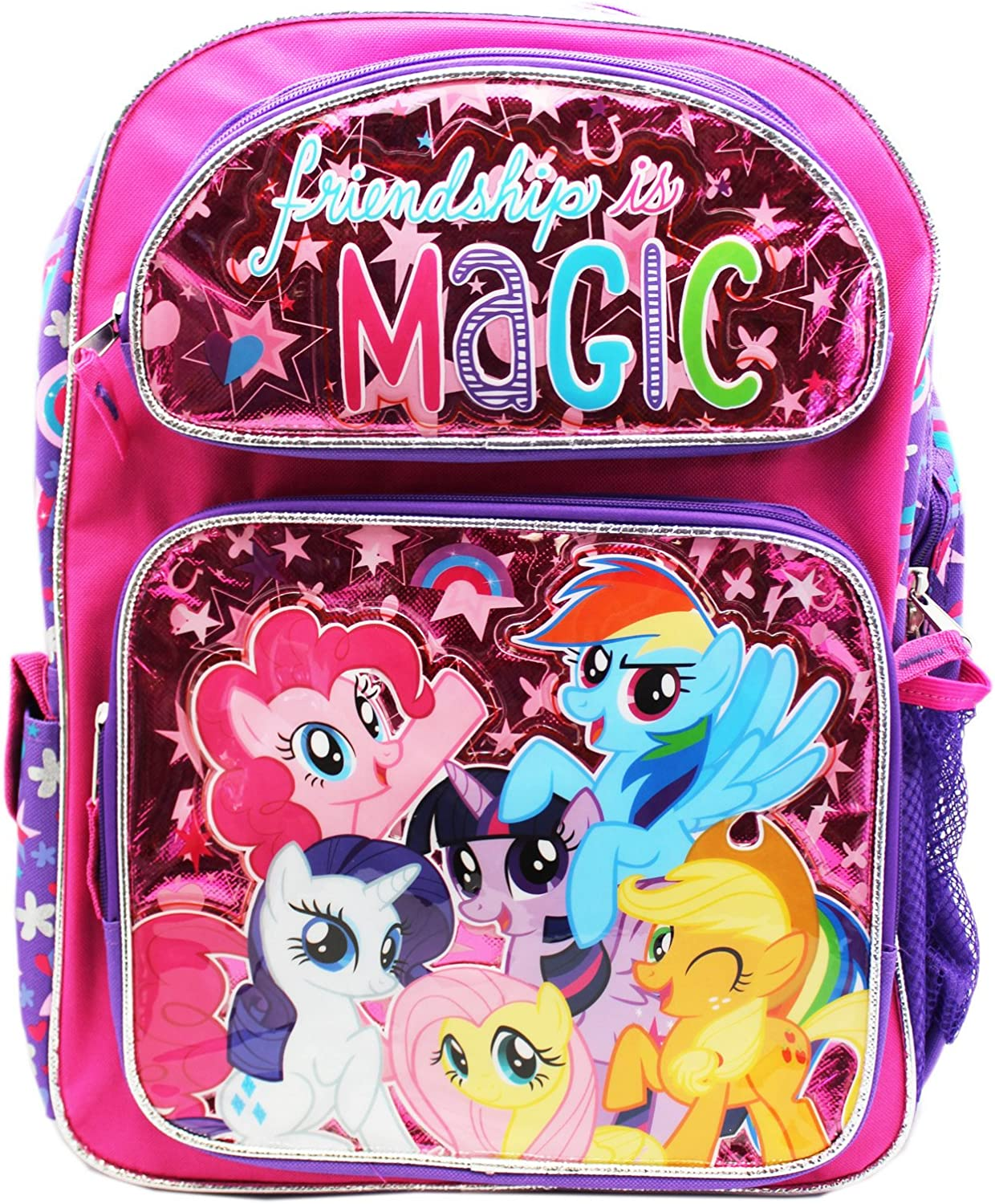 """My Little Pony 16/"""" inches Large Backpack Licensed Product BRAND NEW Magic"""