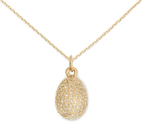 SMALL 14K YELLOW GOLD PAVE DIAMOND FILIGREE HEART BUTTERFLY PENDANT NECKLACE
