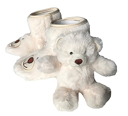 cfa48925701b Image Unavailable. Image not available for. Color  WonderKids Fuzzy  Slippers Kids ...