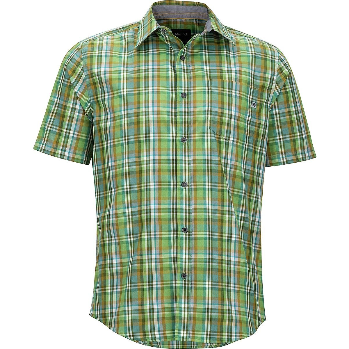 Marmot Dobson Shirt – Men 's Wheatgrass、L   B07B4X5RNP