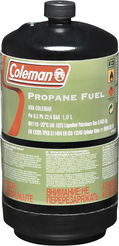 Coleman propano Gas Botella m11102er de Pack con por 465 ...
