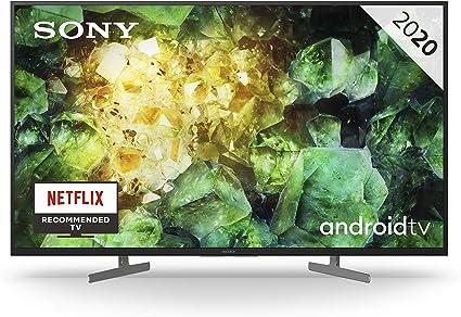Oferta amazon: Sony KD-43XH8196 - HDR Android TV (procesador X1 4K HDR, Triluminos, X-Reality PRO, MotionFlow XR, Dolby Vision, Dolby Atmos, calibración automática caIMAN, control por voz), Compatible con Alexa           [Clase de eficiencia energética A]
