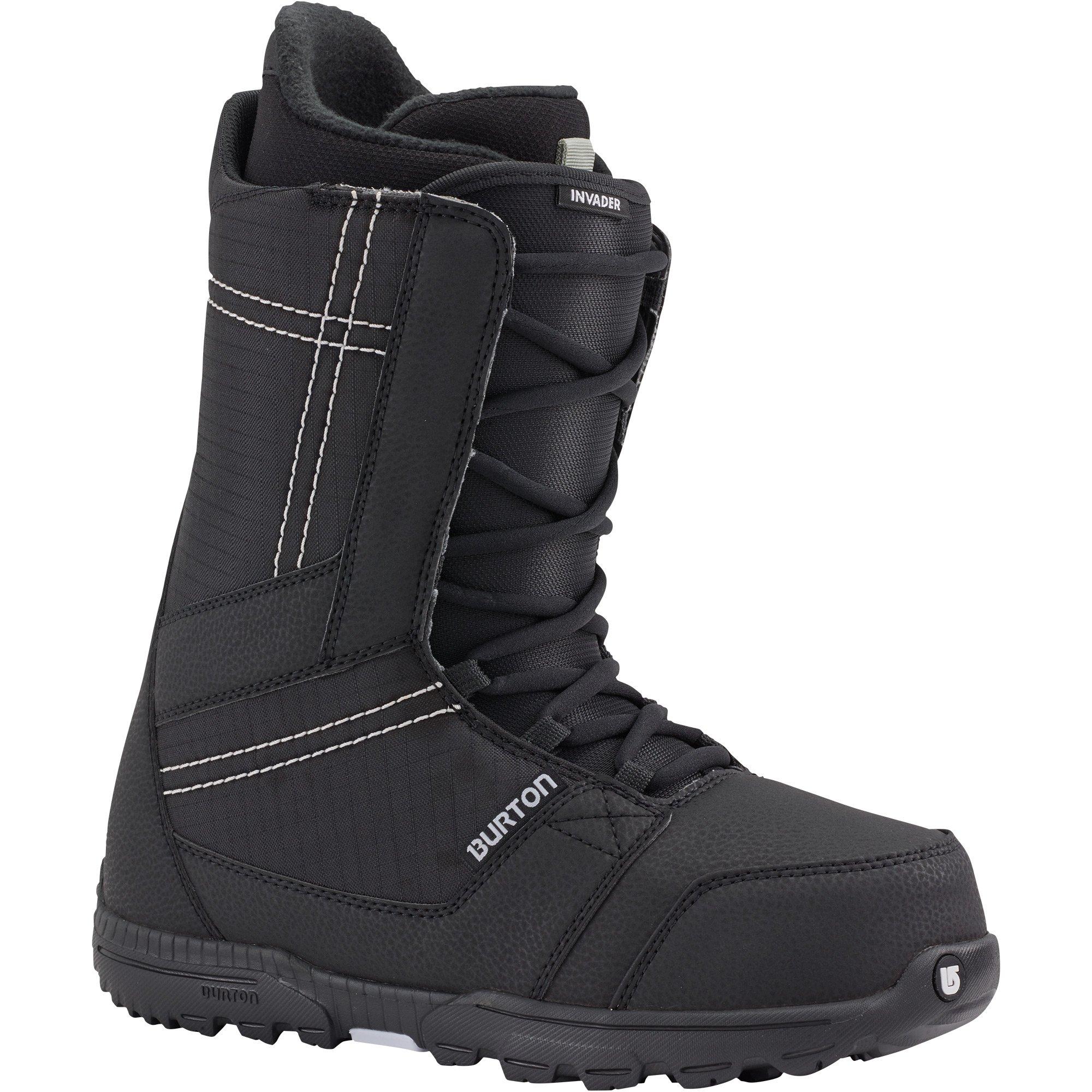 Burton - Mens Invader Snowboard Boots 2018, Black, 11.5 by Burton