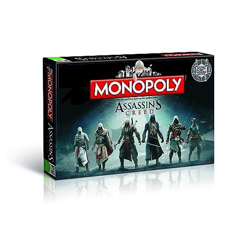 Monopoly Assassin's Creed limitierte Edition (Deutsch) - Die Geschichte ist unser Spielfeld. Spielen Sie mit!