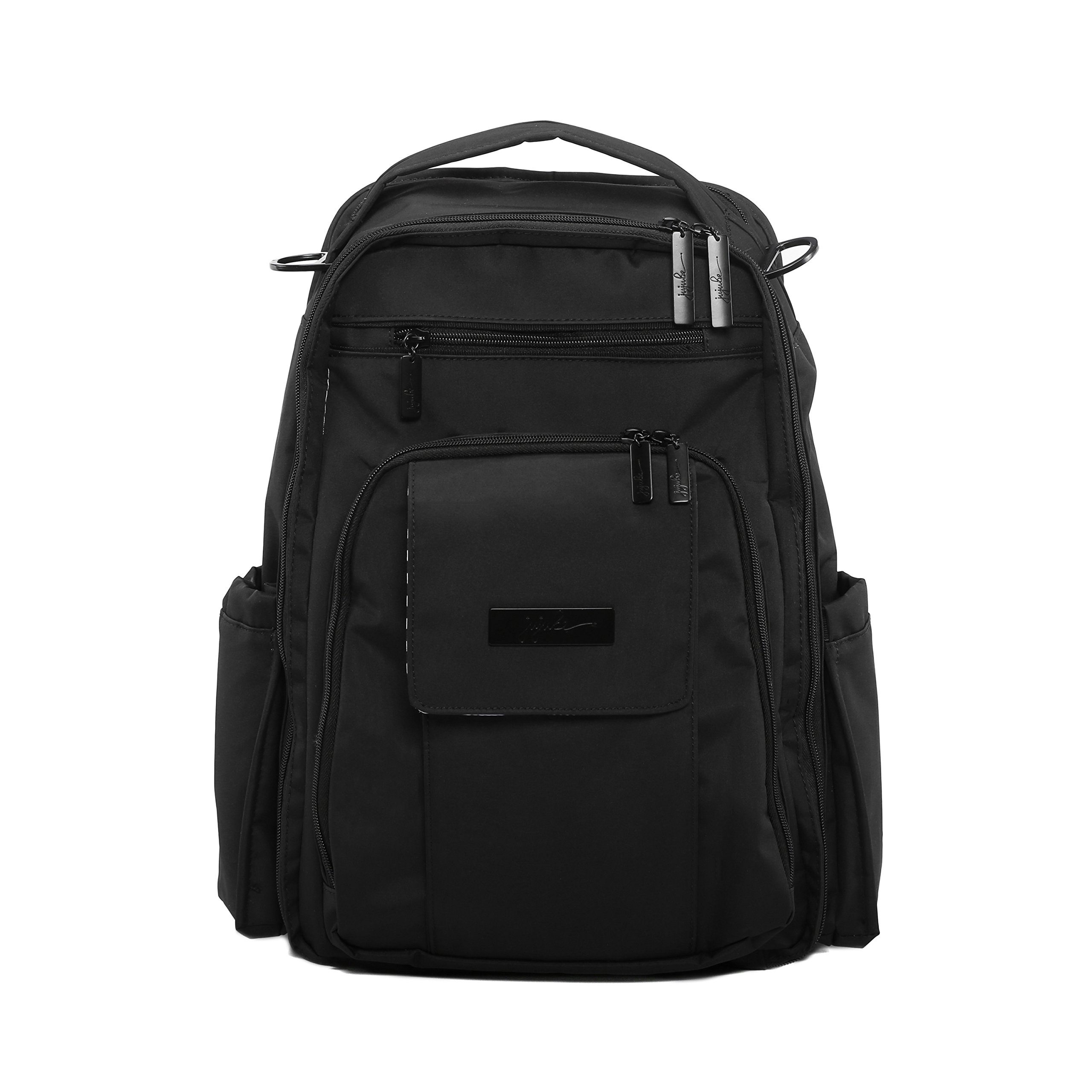 Ju-Ju-Be Onyx Collection Be Right Back Backpack Diaper Bag, Black Out