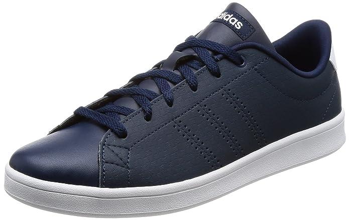 adidas neo women's vantaggio cl qt w conavy / conavy / ftwwht scarpe