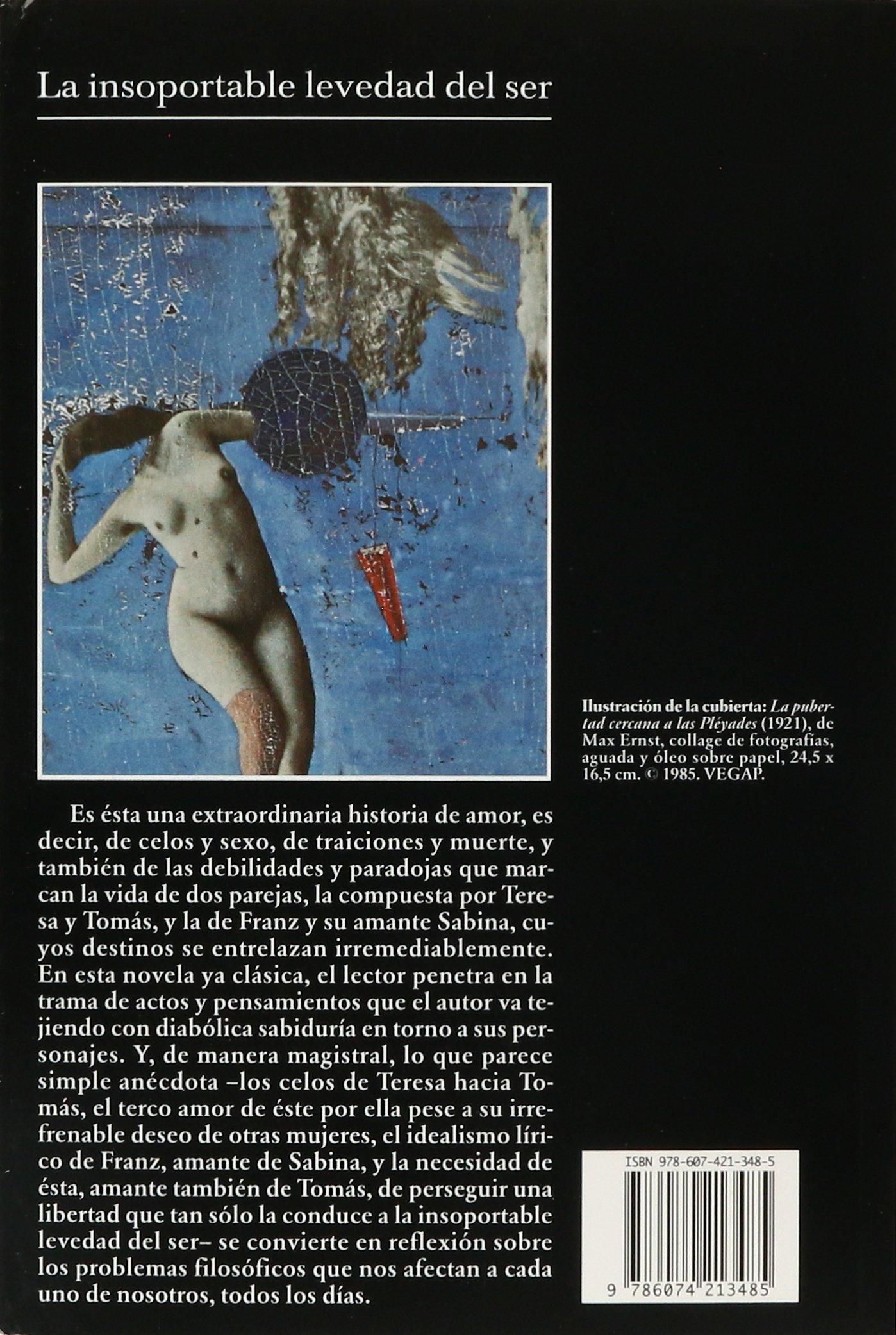 La Insoportable Levedad del Ser: Amazon.es: Kundera: Libros