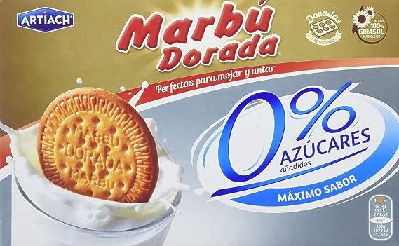 Oferta amazon: Artiach - Galletas Marbu 0% Azucares, 400 g