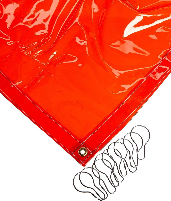5 Width x 5 Height Sellstrom 97305-1 Supervisor Series Welding Curtains Orange