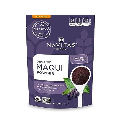 Amazon Com Navitas Organics Maqui Powder 3 Oz Bag Organic