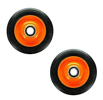 PetrolScooter - Rodamientos para carro de rueda maciza con rodamientos (15,24 cm, 2 unidades): Amazon.es: Coche y moto