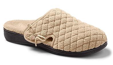 0bbc8b7dd9e2b Amazon.com   Vionic Adilyn Women Round Toe Canvas Slipper   Slippers