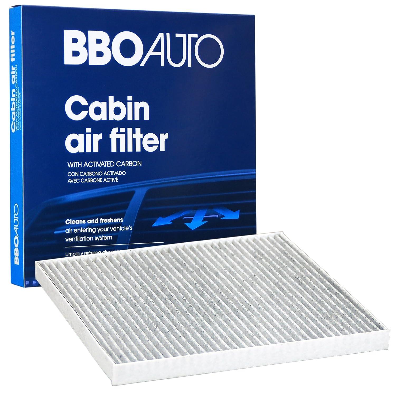 BBO AUTO BCF10709 Premium Cabin Air Filter with Active Carbon Media – Fits Kia Sportage, Rio, Forte, Rio5, Forte5, Rondo | Hyundai Tucson, Accent, Genesis (CF10709 REPLACEMENT) Big Blue Ocean Inc.