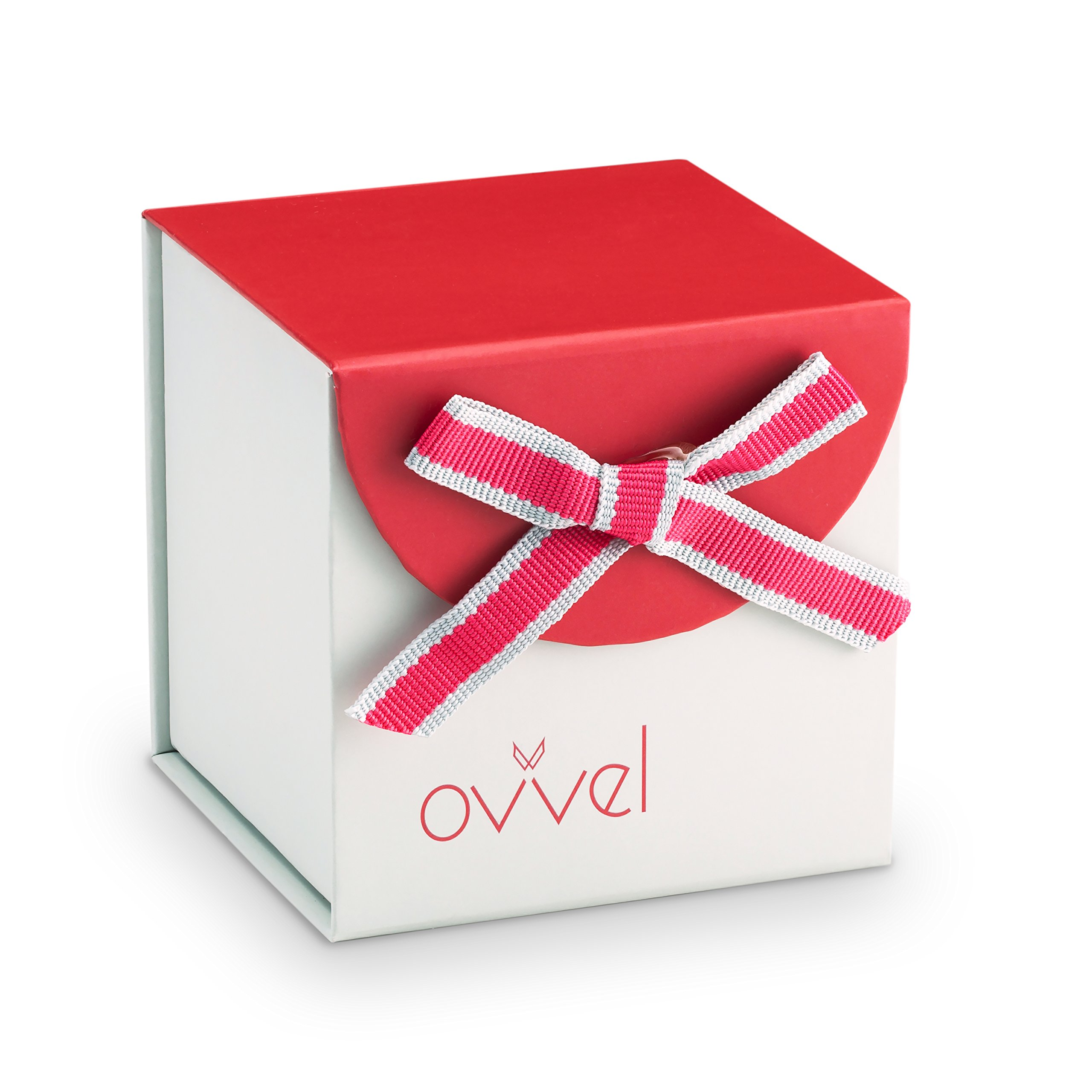 Ovvel Girls Watch - Pretty and Cute Kids Wrist with Teaching Analog Display Time Teacher - Japanese Quartz Movement - Pink Butterfly Design by Ovvel (Image #5)