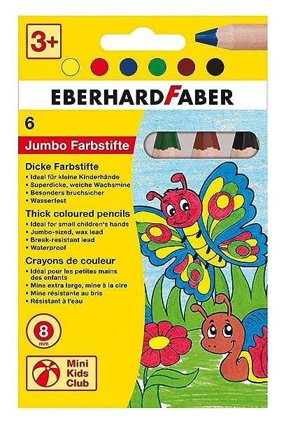 16 EBERHARD FABER Dreikant-Buntstift 3 Kunststoffetui