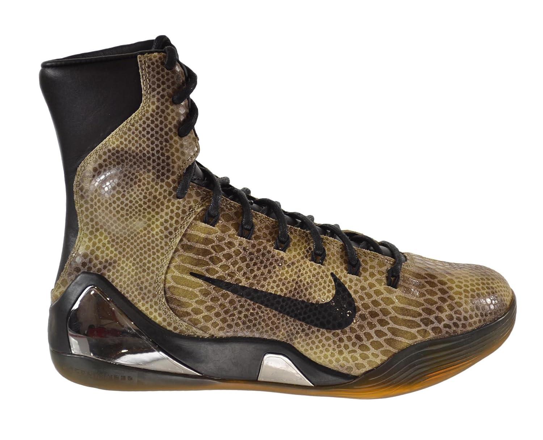 the best attitude 15830 dc88d Amazon.com   Nike Kobe IX High EXT QS Snake Skin Men's Shoes Black/Black  716616-001 (10 D(M) US)   Basketball