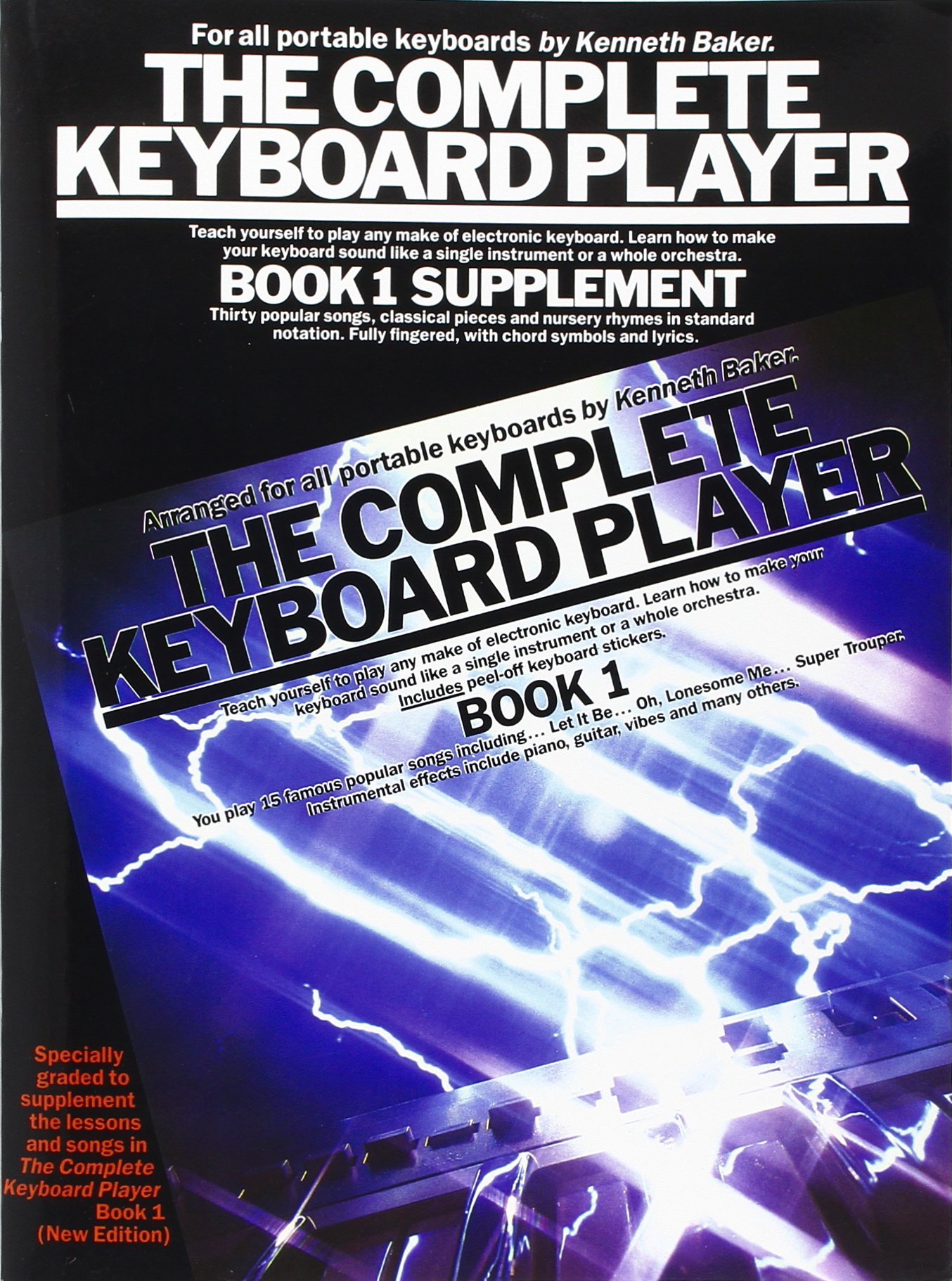 Download The Complete Keyboard Player: Book 1 (Supplement) pdf epub